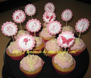 Cupcakes-baby kleinanna